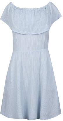 Jack Wills Ella Off Shoulder Stripe Dress