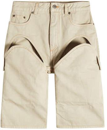 Y/Project Detachable Cotton Shorts