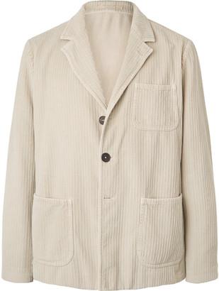 Massimo Alba Baglietto Unstructured Cotton-Corduroy Blazer