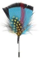 Stacy Adams Men's Feather Lapel Pin