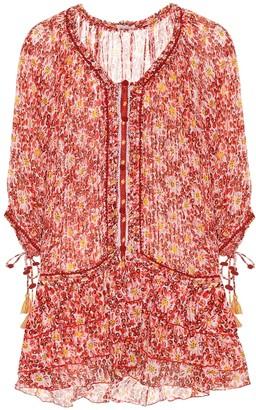 Poupette St Barth Exclusive to Mytheresa a Fleur printed cotton minidress