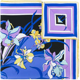 Emilio Pucci floral printed scarf - women - Silk - One Size