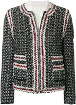 Moncler Gamme Rouge front zipped coat
