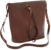 L.L. Bean Signature Double-Faced Leather Bucket Bag