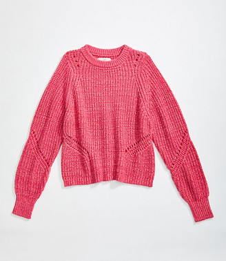 LOFT Ribbed Sweater