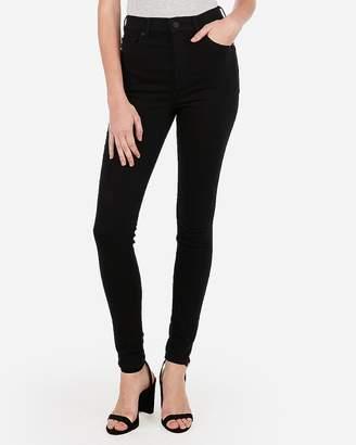 Express Super High Waisted Black Jean Leggings