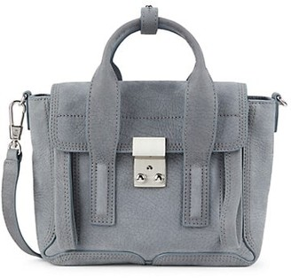 3.1 Phillip Lim Mini Pashli Suede Satchel