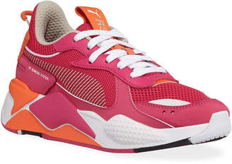 Puma RS-X Toys Lace-Up Mesh Trainer Sneakers