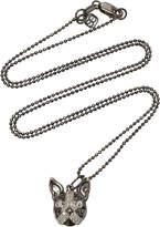 "Sydney Evan Pave Boston Terrier Charm 16"" Necklace"