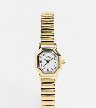 Limit Octagonal expanding bracelet watch in gold