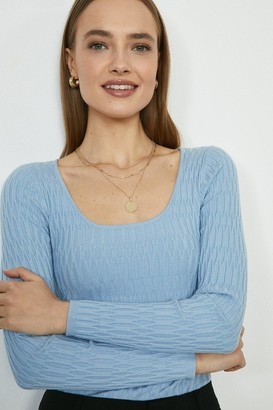 Coast Scoop Neck Knitted Jumper