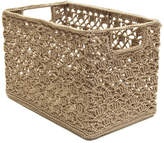 Heritage Lace Mode Crochet Wire Basket