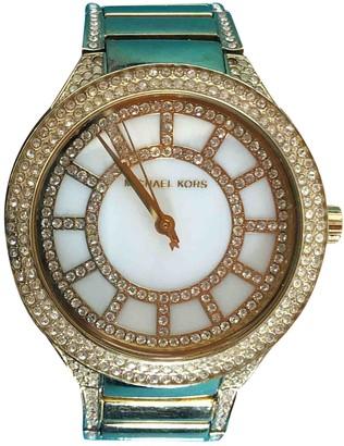 Michael Kors Gold Steel Watches