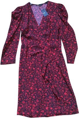 Maje Fall Winter 2019 Red Viscose Dresses