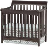 Child Craft Ashton Mini 4-in-1 Convertible Crib with Mattress