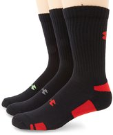 Under Armour Men's HeatGear Crew Socks (3 Pair)