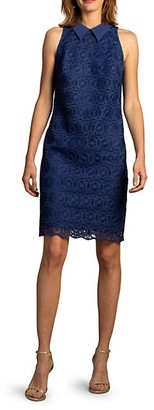 Trina Turk Cats Cradle Sleeveless Lace Dress