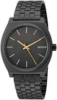 Nixon Men's 'Time Teller' Quartz Metal and Stainless Steel Watch