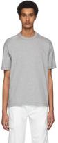 Junya Watanabe Grey Cotton Jersey T-Shirt