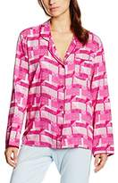 Cyberjammies Women's Pretty in Pink Pyjama Top,34 (EU)