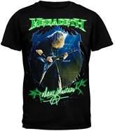 Old Glory Megadeth Men's Photo T-shirt Black