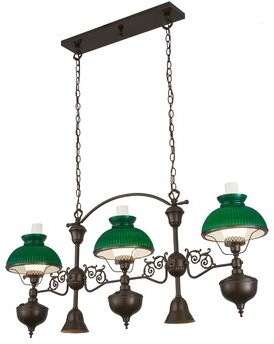 Fleur De Lis Living Wabasso 5 - Light Kitchen Island Linear Pendant