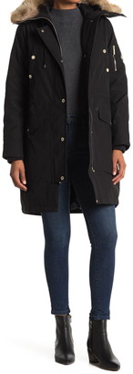 Michael Kors Missy Faux Fur Down Fill Anorak