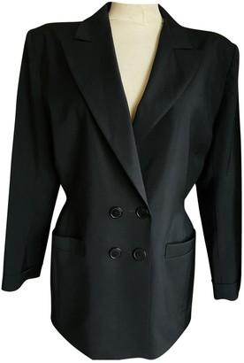 Emmanuelle Khanh Black Wool Jacket for Women