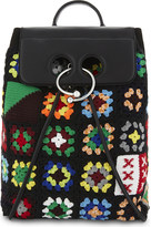 J.W.Anderson Pierce knitted backpack