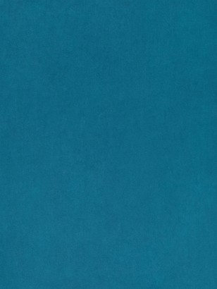 John Lewis & Partners Quartz Plain Velvet Fabric, Petrol Blue, Price Band B