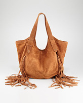 Twelfth St. By Cynthia Vincent Mini Classic Berkley Fringe Bag
