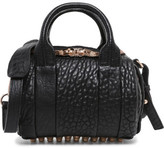 Alexander Wang Mini Rockie in Pebbled Lamb with Rose Gold Details