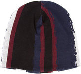 Baja East printed stripe beanie - unisex - Cotton - One Size