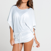 Luli Fama Cosita Buena Cover Ups South Beach Dress in White (L177968)