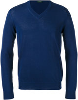 Zanone V-neck jumper - men - Cotton - 46
