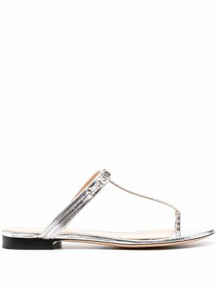 Givenchy Sandals Silver