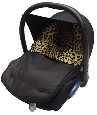 Jane Fit Animal Print Padded Car Seat Footmuff/Cosy Toes Strata/Rebel Leopard
