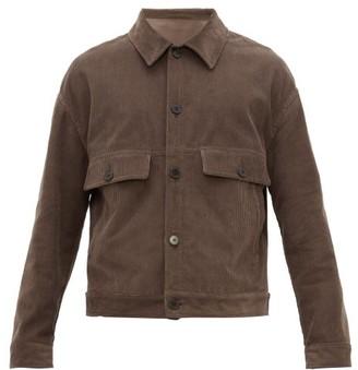 Raey Chest-pocket Cotton-blend Corduroy Jacket - Brown
