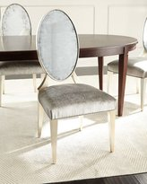 John-Richard Collection Starling Eglomise Side Chair