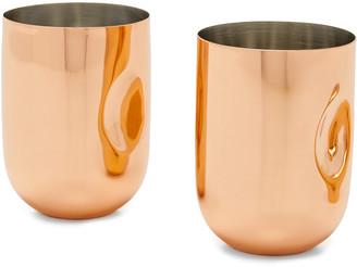 Tom Dixon Plum Moscow Mule Cups Set