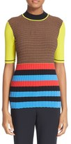 Opening Ceremony Women's Stripe Knit Top