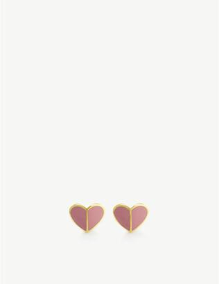 Kate Spade Heritage Spade Heart stud earrings