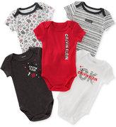 Calvin Klein 5-Pk. Bodysuits, Baby Boys (0-24 months)
