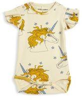 Mini Rodini Baby's Isola Bella Unicorn Star Wing Bodysuit
