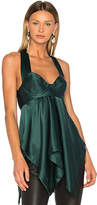 KITX Geometry Chemise in Dark Green