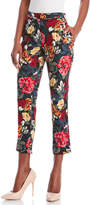 Sonia Rykiel Floral Cropped Cigarette Pants