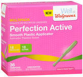 Walgreens Perfection Active Tampons Multi-Pack