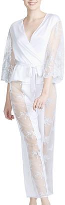 Rya Collection Darling Lace-Paneled Pajama Set