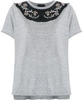 Andrea Bogosian - embroidered blouse - women - Cotton - G