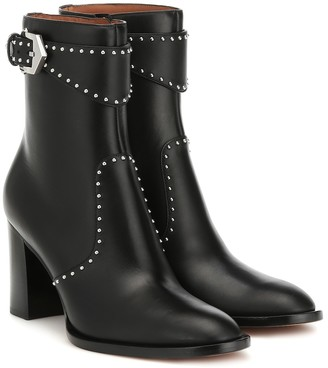 Givenchy Studded leather ankle boots